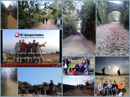 collage entrenament Trailwalker