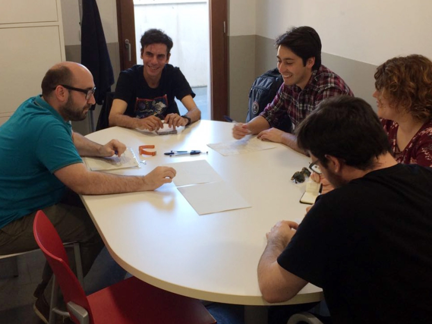 Sessió de coaching laboral al PIJ de Gràcia